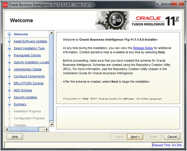 Install OBIEE 11g on Windows 7 (64 bits) - Oracle Business